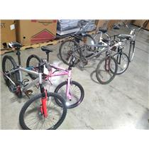 Lot of 5 Bicycles Bikes BMX Huffy Mongoose SEE DESC