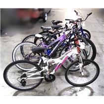Lot of 5 Bicycles Mongoose Schwinn BCA TREK 800 READ DESC