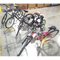 Lot of 5 Bicycles Schwinn Ranger BCA Terrain Kent Jamis MX55 Huffy READ