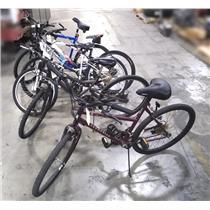 Lot of 5 Bicycles Roadmaster Huffy Diamanback Woodseries K2 Attack 4.0 Nishiki