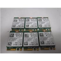 LOT OF 6 Intel Dual Band WIFI Wireless Bluetooth 4.0 NGFF M.2 Card (7265NGW)