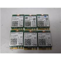 LOT OF 6 Intel Dual Band WIFI Wireless Bluetooth NGFF M.2 Card (7260NGW)
