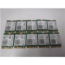 LOT OF 10 Intel Dual Band WIFI Wireless Bluetooth NGFF M.2 Card (7265NGW)