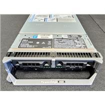 """Dell PowerEdge M630 2.5"""" Barebones with 2x Heat Sinks 1x P2KTN 1x 2H47D 1x JVFVR"""