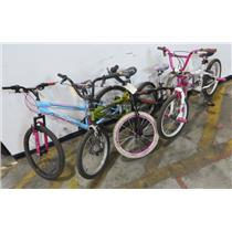 Lot of 4 Kids Bike Bicycles Boys & Girls Rallye & Kent - LOCAL PICKUP ONLY