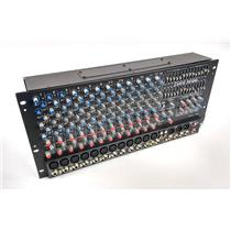 Carvin RX1200L 12 Ch Powered Audio Mixer TESTED AND WORKING