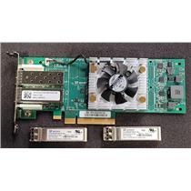 Dell Qlogic QLE2662L-DEL 16GB DualPort Fibre Channel Low Profile 3PCN3 w/ SFPs