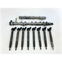 BC3Q-9D280-BD BC3Q-9D280-AC For 2011-2014 6.7 Ford Powerstroke Fuel Rails Set