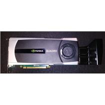 HP Nvidia Quadro 5000 2.5GB GDDR5 PCI-e 608532-001 616077-001
