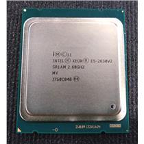 Intel Xeon E5-2630 V2 6 CORE 2.60 GHz 7.2GT/s 15MB LGA2011 SR1AM CPU