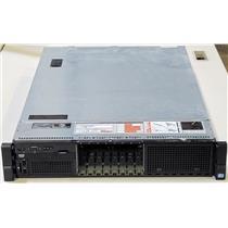 "Dell PowerEdge R720 8-Bay 2.5"" Barebones 2x750W PSU No CPU No RAM No HDD 2xHS"