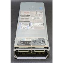 "Dell PowerEdge M630 2.5"" Barebones with 2x Heat Sinks 1x 4GDP5 1x JVFVR"