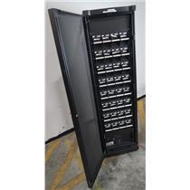 APC SYCF8BF Symmetra UPS Battery Frame Cabinet W/ SYBTU1-PLP Modules - UNTESTED