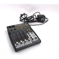 Behringer Xenyx 802 8-channel  Analog Mic / Line Mixer - TESTED & WORKING