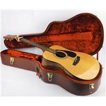 Vintage Alvarez Hardshell Guitar Case w/ Yamaha F325D & Kyser Quick-Change Capo