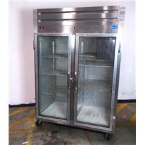 Randell 2021 46 CuFt Reach-In Double Glass Door Refrigerator 115V - For Parts