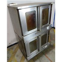 Southbend SilverStar Double Full Size Natural Gas Convection Oven - UNTESTED