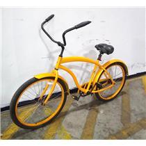 "Mango Cruisers Macaw Bicycles Bikes Mens 19"" Riders 5'6"" - 6'2"" Tires 26"" Orange"