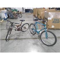 Lot of 2x Bicycles Bikes Mongoose R4055WM8 Huffy Cruiser