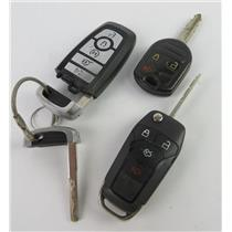 Lot of 3 Ford Vehicle Car Keyfobs Key Fob Smart Remote Keyless Entry - PREOWNED