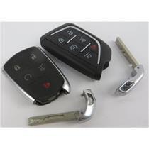 Lot of 2 Cadillac Vehicle Keyfobs Key Fob Smart Remote Keyless Entry - PREOWNED