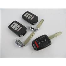 Lot of 3 Honda Vehicle Car Keyfobs Key Fob Smart Remote Keyless Entry - PREOWNED