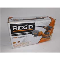 New Ridgid 5 in. Random Orbit Sander W/Case