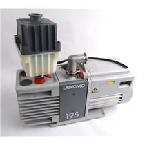 Labconco 195 Height Volume Vacuum Rotary Vane Dual Stage Lab Pump - MINOR DEFECT