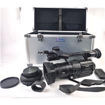 Sony HVR-Z1U HDV 1080i HD NTSC/PAL Professional Camcorder w/ Wide Lens - Working