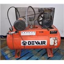 Devair Air Compressor 100 PSI 30 Gal. Cap. - FOR PARTS