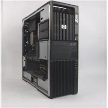 HP Z600 WORKSTATION 2-XEON X5650 6 CORE 2.67GHz 16G 1TB HDD DVD-RW QUADRO 4000