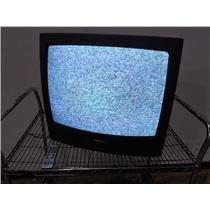 """Philips 25"""" PL5125 C121 Color TV W/Remote - Tested and Working"""