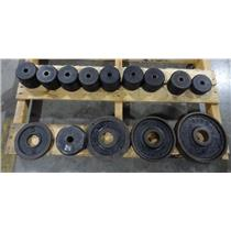 """Assorted Lot of 1"""" Standard & Olympic 2"""" Barbell Free Weights  - Local Pickup"""