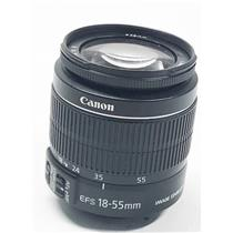 Canon EF-S 18-55mm 1:3.5-5.6 IS II Zoom Lens - Tested & Working