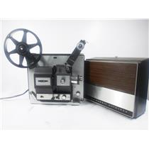 Bell & Howell Autoload 466A 8mm/Super 8 Film Projector - Tested & Working