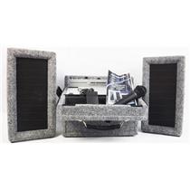 Audio Enhancement Omni 2001AZ Portable PA System /w 2 Wireless Mic - Working