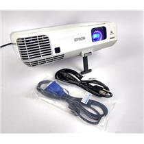 Epson H388A Power Lite 915W WXGA 3LCD Projector 863Lamp Hrs 3200 Lumens WORKING