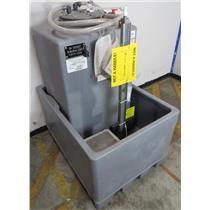 NEW Nalco H-550 PORTA-FEED - All Plastic 110 Gallon Tank W/ Level Sensor