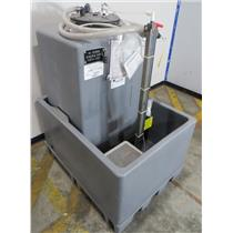 NEW Nalco 3DT260 PORTA-FEED - All Plastic 110 Gallon Tank W/ Level Sensor