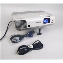 Epson H388A Power Lite 915W WXGA 3LCD Projector 2018Lamp Hrs 3200 Lumens WORKING