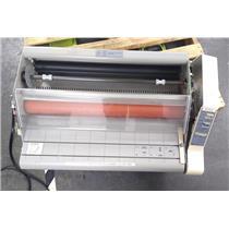 """GBC 4250 27"""" Hot Cold Laminator 120v 1450W 1.5 to 10 fpm - Read Description"""