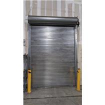 Industrial Steel Roll-Up Warehouse Door 12.8 ft x 9.5 ft - PICK UP ONLY