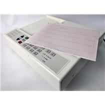 Schiller AT-2 Cardiovit CH-6341 Interpretative EKG ECG Unit Monitoring Machine