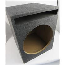 "New Open Box Q-POWER SBASS15 15"" Vented Car Audio Subwoofer Sub Box Enclosure"