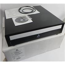 New Open Box APG VB554A-BL1616 Vasario Series POS USB Cash Drawer W/ Keys