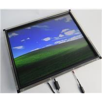 "Elo TouchSystems ET1739L-8CWA-3-NPB-G 17"" Open Frame LCD VGA DVI Touchscreen"