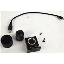 LS Falcon USB Camera w/Computar T2314FICS 2.3mm 1:1.4 Lens Custom IR Filter