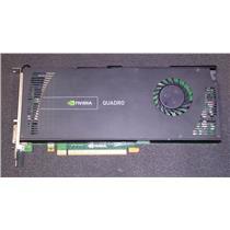 PNY VCQ4000V2-T Nvidia Quadro 4000 2GB GDDR5 PCI-E 256-Bit Video Card