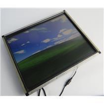 "Elo E012584 ET1739L-8CWA-3-NPB-G 17"" Open Frame LCD VGA Touch Monitor - NO PSU"