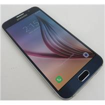 Samsung SM-G920A Galaxy S6 32GB Blue Android Smartphone W/ Good AT&T IMEI #